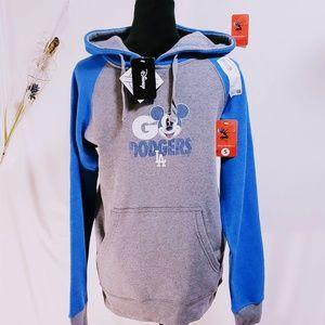 Fanatics Shirts - LA Dodgers Disney MLB Pullover Hoodie size S🆕🦅